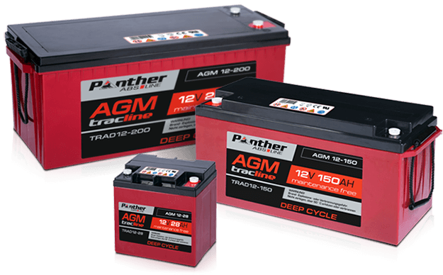 tracline AGM DC Batterien